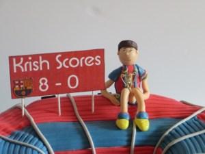 FC Barcelona stadium cake