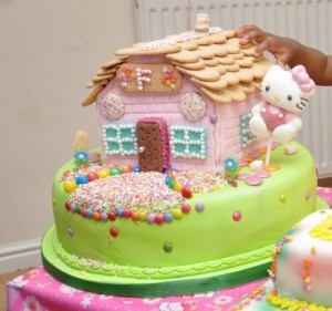 Enchanted Sweet House Birthday Cake