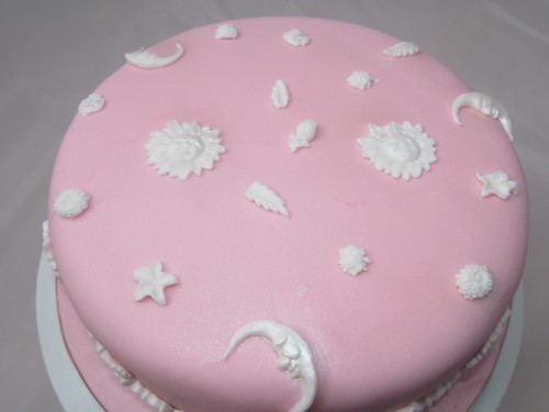 Moon and Sun Cake