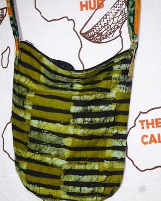 Batik Bag (Green) (sale)