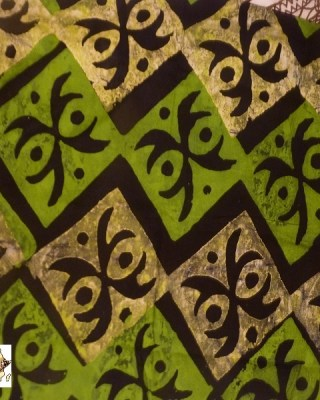 Batik Print – Green