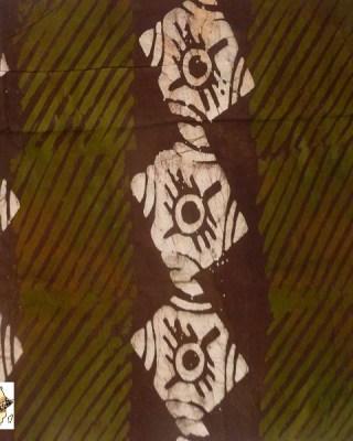 Batik Print – Khaki