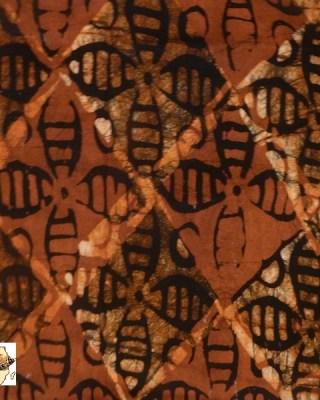 Batik Print – Tan