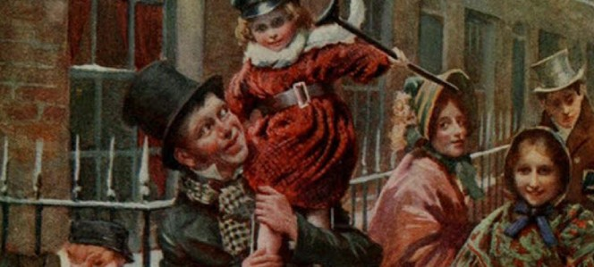Scene from A Christmas Carol