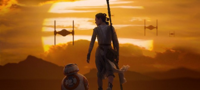 Rey and BB-8 From Star Wars