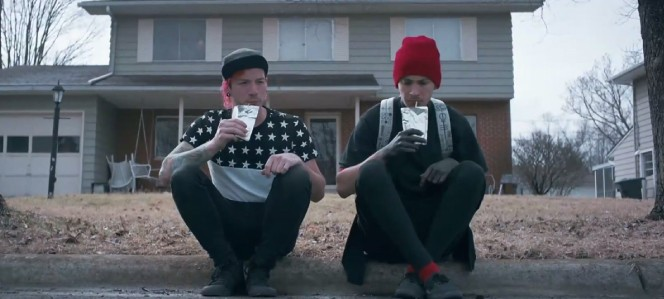 "Scene from ""Stressed Out"" Music Video"