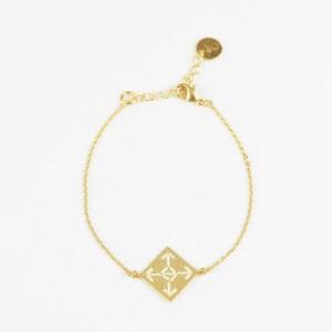The Camelia bijoux - Bracelet Socco écru