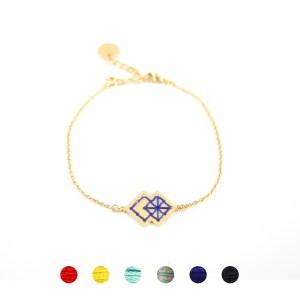 Bracelet Drâa bleu majorelle 6 couleurs