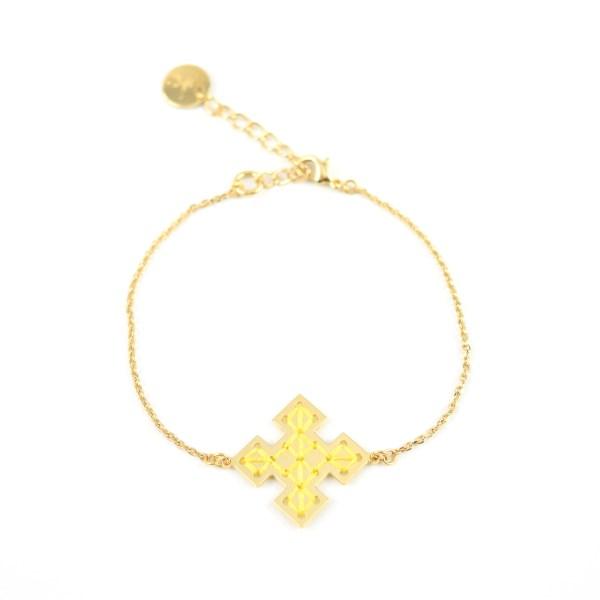 Bracelet Skala jaune