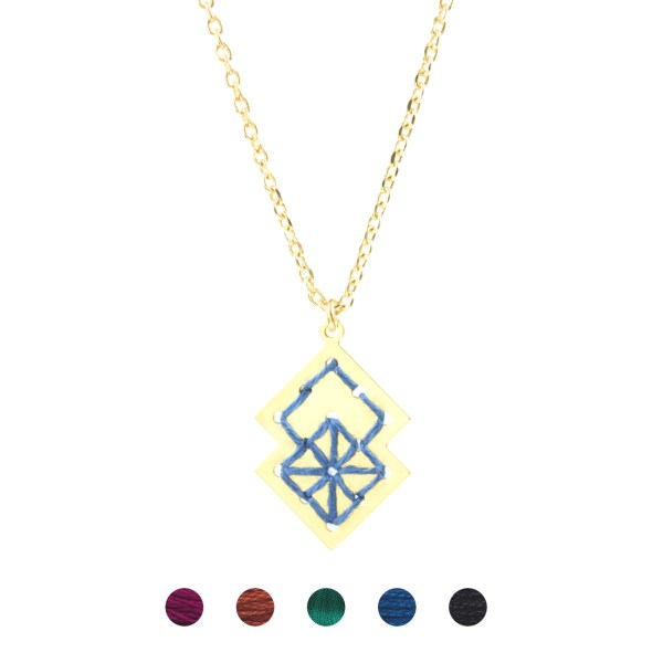 Collier Drâa 5 couleurs