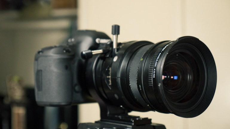 Schneider - Kreuznach Zenzanon - PE - PCS - Super - Angulon 4.5/55 Bronica Medium Format Lens