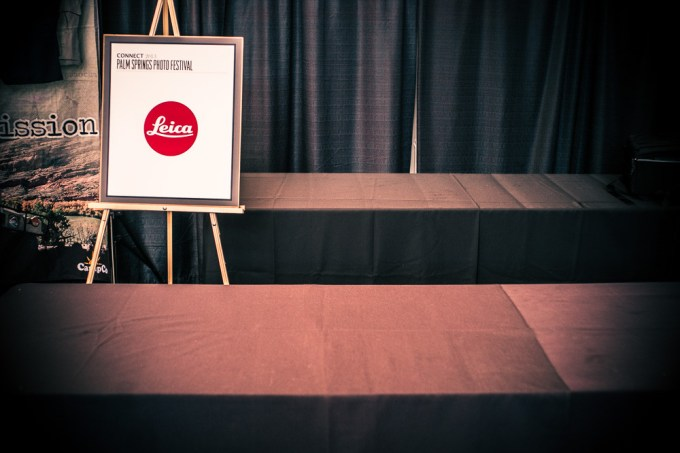 """The new Leica M 240. A """"no show"""" at the Palm Springs Photo Festival 2013."""