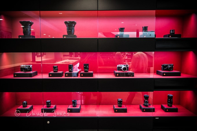 Every Leica Product Is On Display, Along With A Substantial Collection Of Historical Leica Products