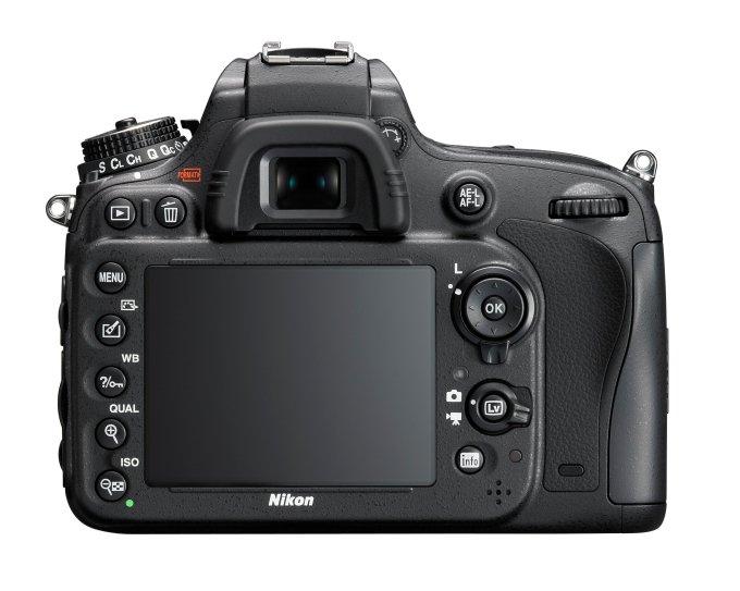 Nikon D610 24MP - Back