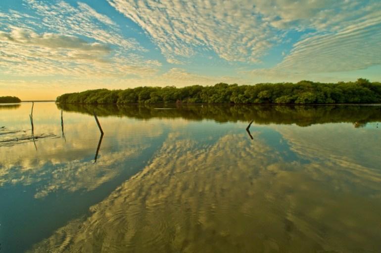 """Yellow Sunrise Over Campeche"" ©2005 Chuck Jones"