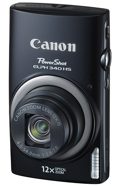 Canon Elph 340 - Latest offering in a long line of Elph cameras going back to film.