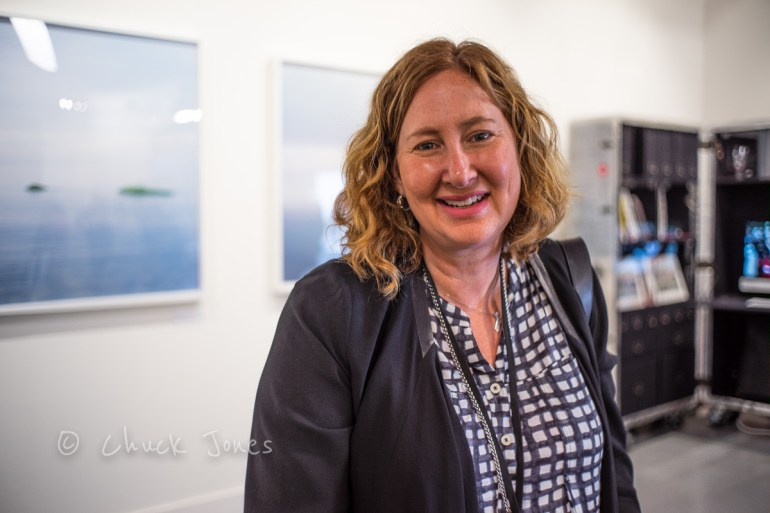 Annie Seaton, Gallery Manager of the Leica Gallery Los Angeles.