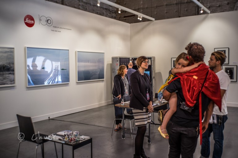 """""""Our exhibition at Paris Photo was inspired by our 100 Year anniversary of Leica cameras.""""  Anne Sexton"""