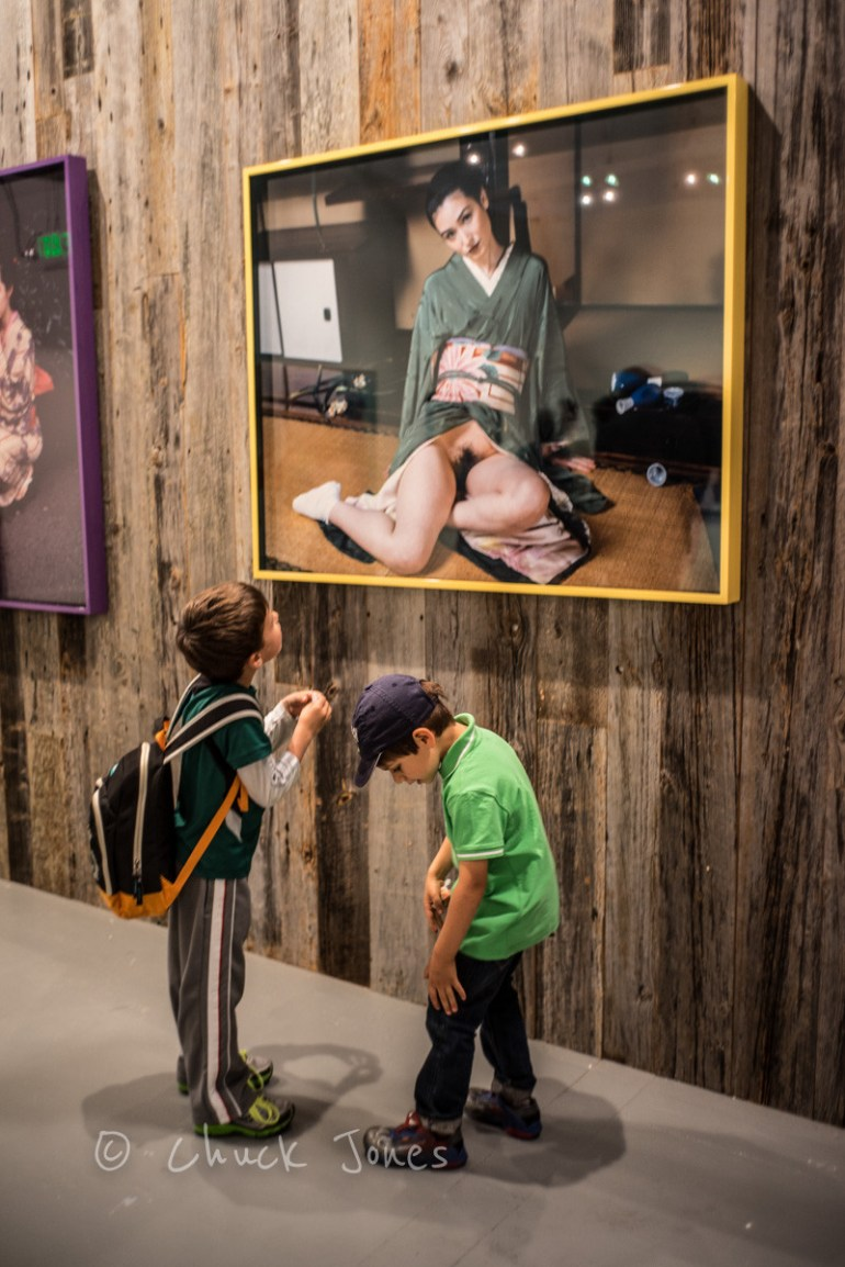 Some Of The Art Show At Paris Photo Is Meant To Shock.    Leica 35mm Summicron @f/2, A7R, 1/60th sec, ISO 640