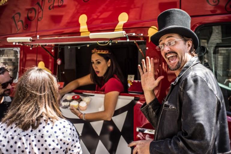 """The Royal Gourmet Food Wagon""  Leica 35mm Summicron @ f/4, A7R, 1/500th sec, ISO 100."