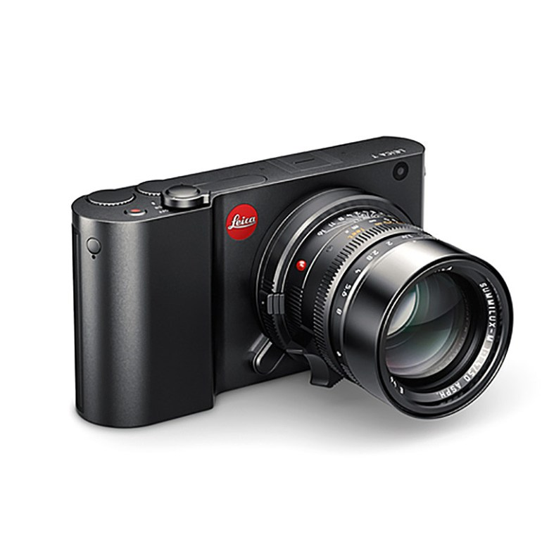 Leica T Camera In Black, With Optional T-M Adapter & Optional 50mm Summilux M.