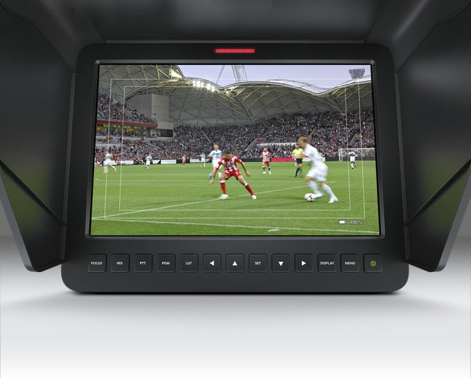 """The BlackMagic Studio Camera Features An Amazing 10"""" Viewfinder"""