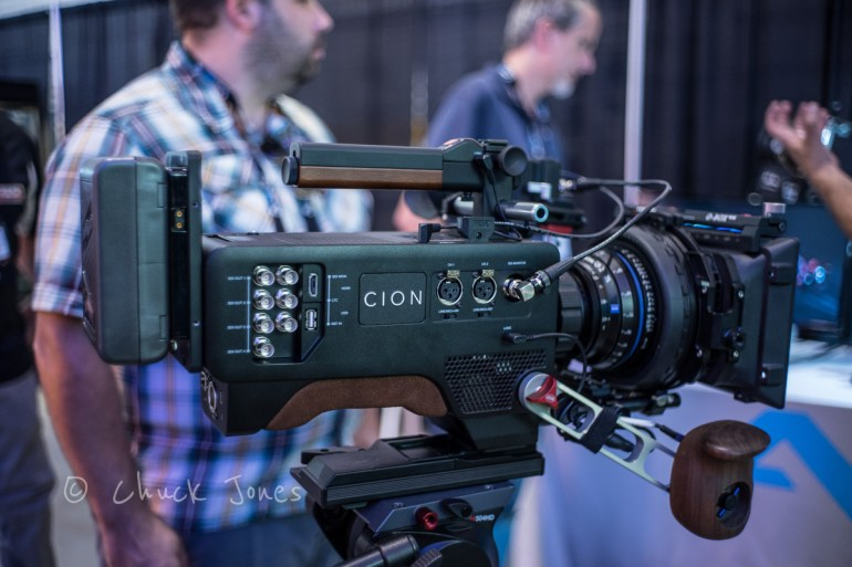CION™ is the new 4K/UHD and 2K/HD production camera from AJA