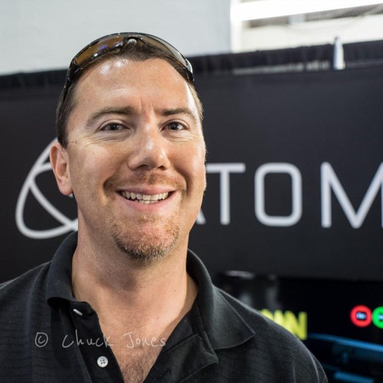 El Dean Naude, Sony Imaging, Explaining The New A7S/Atomos Shogun Integration