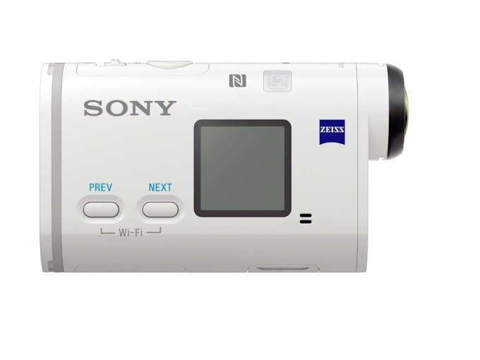 Sony FDR-X1000V Side View