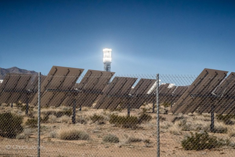 Ivanpah Solar Project Solar Collection Tower & Heliostats