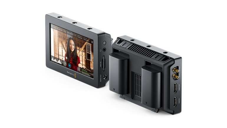 Blackmagic Video Assist - Front & Rear Views