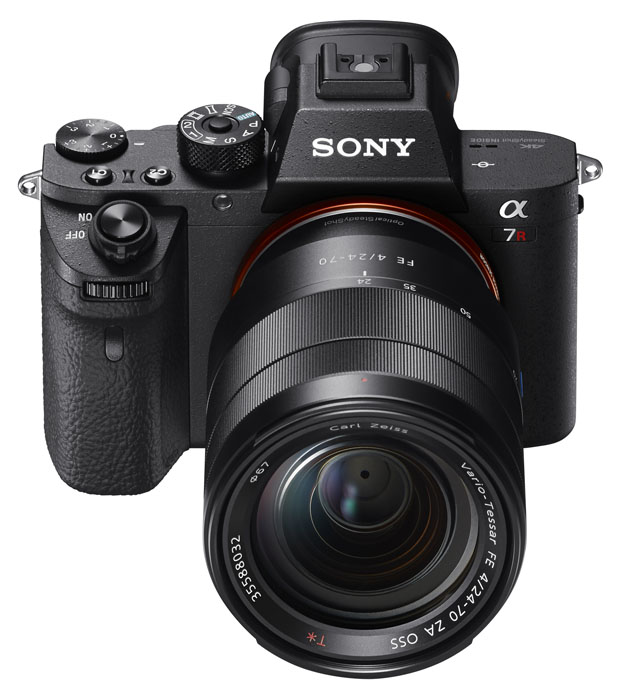 The New Sony A7R II.  Shown With Optional 24-70mm Lens