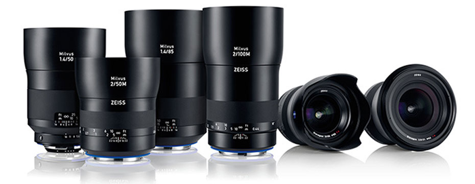 Sony A7 Camera Series and ZEISS Milvus Lenses