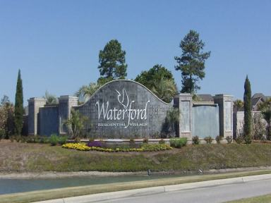 Waterford of the Carolinas Entrance Sign