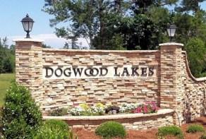 Dogwood Lakes Entrance Sign
