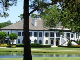 Porters Neck Plantation clubhouse and golf course