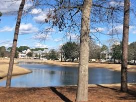 Autumn Hall lake