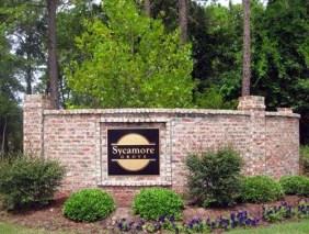 Sycamore Grove Entrance Sign