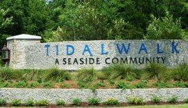 Tidalwalk Entrance Sign