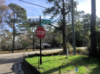 The Grove Street Sign