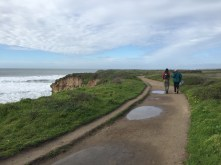 This trail hugged the coast