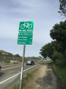 Note to self: I should bike to work sometime!