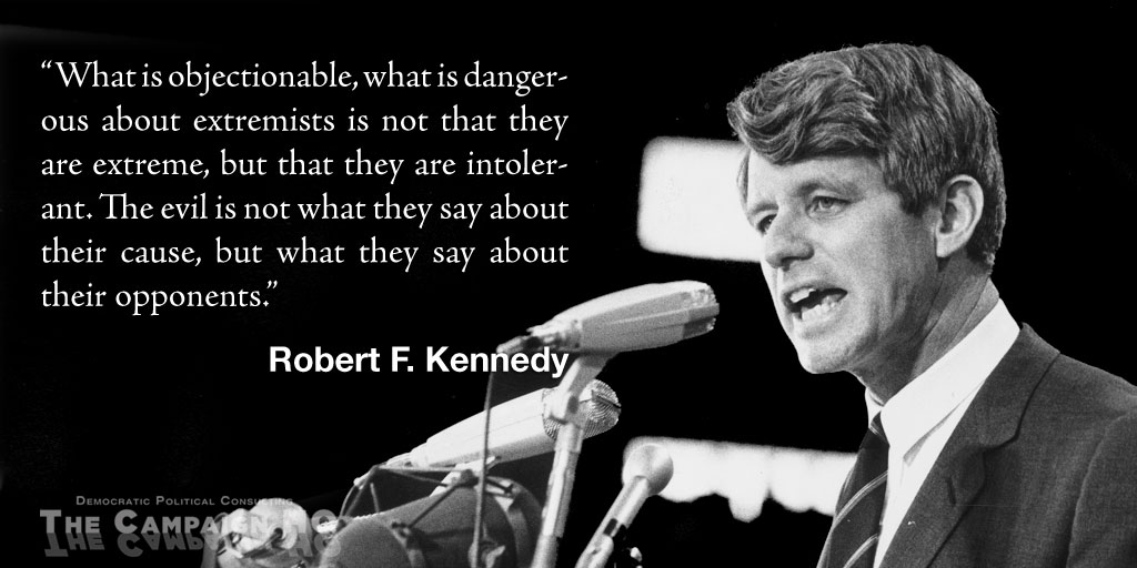 Robert F. Kennedy on Extremism