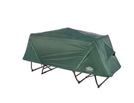 Camping oversize green cot