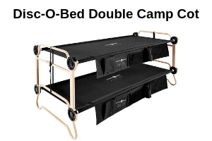 Disc-O-Bed Double Camp Cot