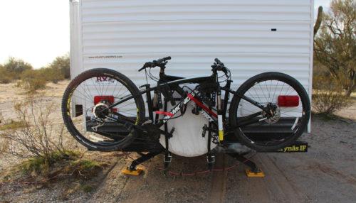 ladder rv bike racks camper trailer
