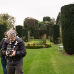 Joseph took this photo. The Yashica belongs to Antoinette.