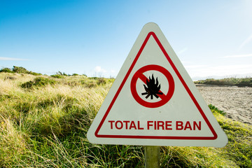 Can you use a camp stove during a fire ban?