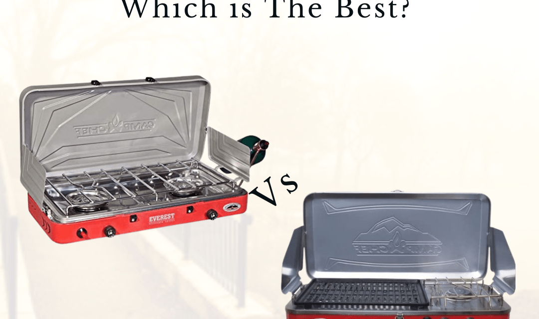 Camp Chef Rainier Vs Everest, Which is The Best?