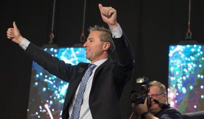 Houston is the new leader of Nova Scotia's Progressive Conservatives